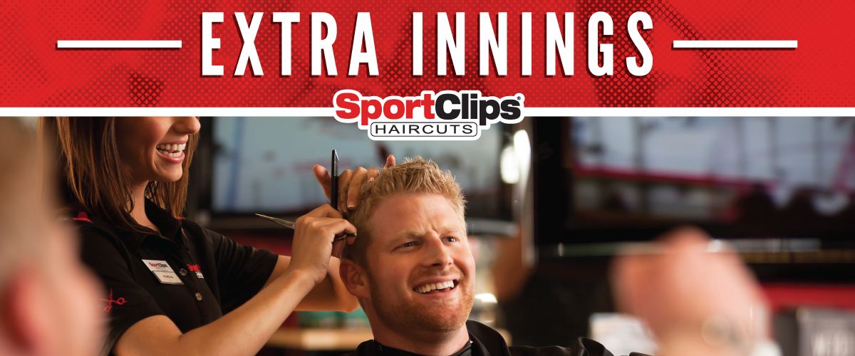 The Sport Clips Haircuts of Fultondale Extra Innings Offerings